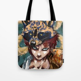 Abstract Gaara Tote Bag