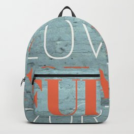 FULLY TOTALLY Backpack