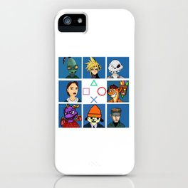 The PS1 Bunch V2 iPhone Case