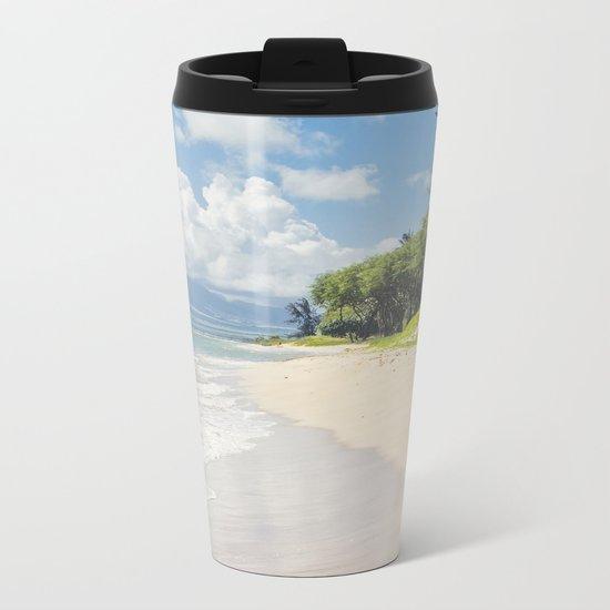 Kawililipoa Beach Kihei Maui Hawaii Metal Travel Mug