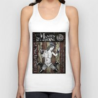 resident evil Tank Tops featuring Jill Valentine The Master Of Unlocking Carnival Poster (Resident Evil) by cksgallery