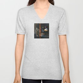 Extraterrestrial (oil on canvas) Unisex V-Neck