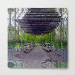Honest gated gape jury. Metal Print