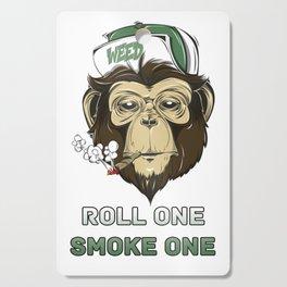 Weed Lovers - Roll One Smoke One Cutting Board