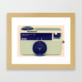 Kodak Instamatic 28 Framed Art Print