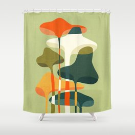 Little mushroom Shower Curtain