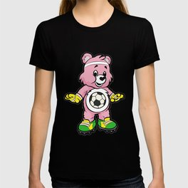 SOCCER Player TEDDY Bear Son Daughter Pit Cleats T-shirt