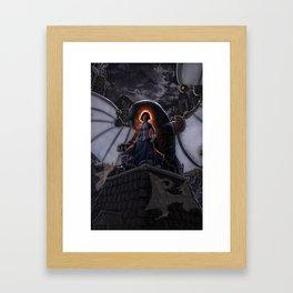 Lamb of Columbia Framed Art Print