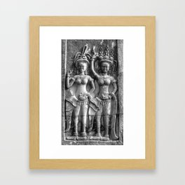 Cambodian Erotic Goddesses Framed Art Print