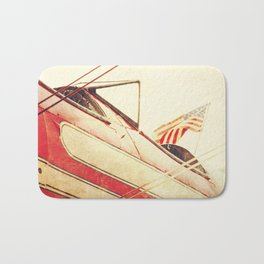 Salute // Antique Airplane Bath Mat