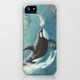Underwater Love at First Sight iPhone Case