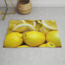 Lemon Collage Rug