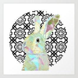 Bunny Bliss Art Print