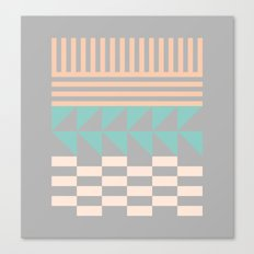 Opostos Canvas Print