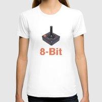 8 bit T-shirts featuring 8-Bit by Cory Fitzpatrick