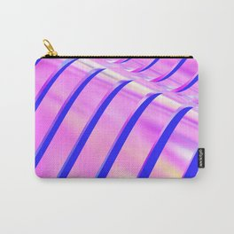 Iridescent Wave Carry-All Pouch