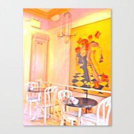 Fine Dining Canvas Print