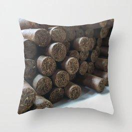 smoke me Throw Pillow