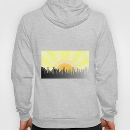 Grey City Morning Hoody