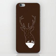 Christmas reindeer. 4 iPhone & iPod Skin