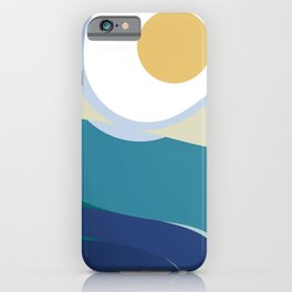 Landscape in motion iPhone Case