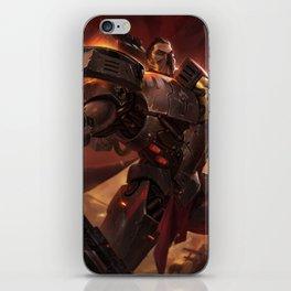Dreadnova Darius League Of Legends iPhone Skin