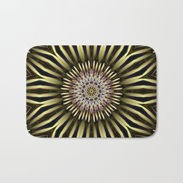 Hypnotic flower Bath Mat