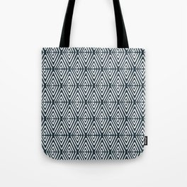 Stacked Arrows Navy and White Tote Bag