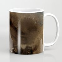 imagerybydianna Mugs featuring shards by Imagery by dianna