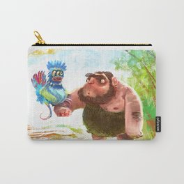 Caveman Carry-All Pouch