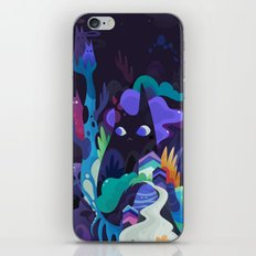 dark-side cats iPhone & iPod Skin