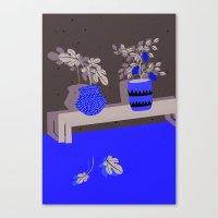 lemon Canvas Prints featuring Lemon by Anne