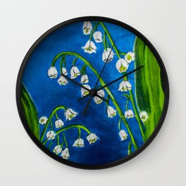 Muguet Wall Clock