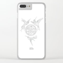 Birds of a feather- The Five Magic Realms Clear iPhone Case