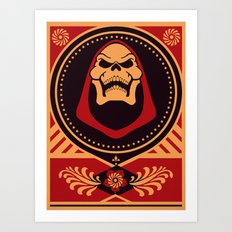 =SKELETOR= Art Print