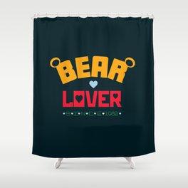 Bear Lover Shower Curtain