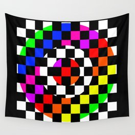 Triggle   Colorful Secret Geomoetry   Play Wall Tapestry