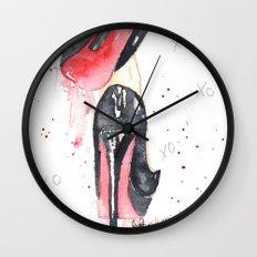 Sexy Heels Wall Clock