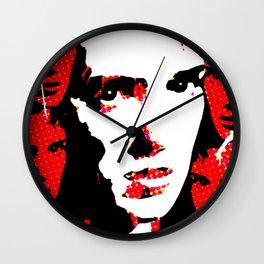Veronica Sawyer Interrupted Wall Clock