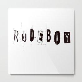 Rudeboy Metal Print
