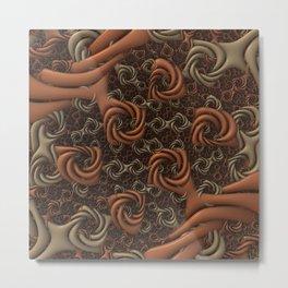 Knotty Metal Print