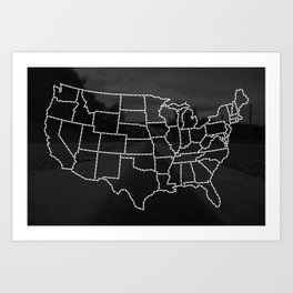 Ride Statewide - USA Art Print