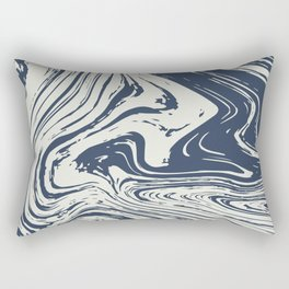 Abstract two colours background Rectangular Pillow