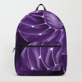Ultra Violet Chambered Nautilus 2 Backpack