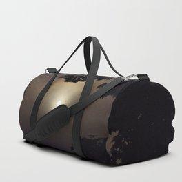 Dark Halloween Dawn Duffle Bag