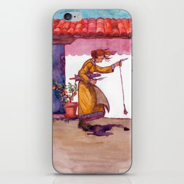 A Woolly Question iPhone Skin