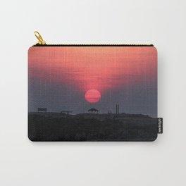 Cloudy sunrise at the Miramar beach. Carry-All Pouch