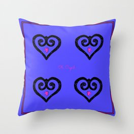 Oh, Cupid . . . Throw Pillow