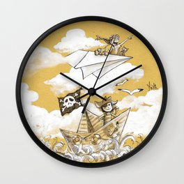 Great Adventurers Wall Clock
