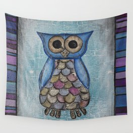 Owl Hoot Wall Tapestry